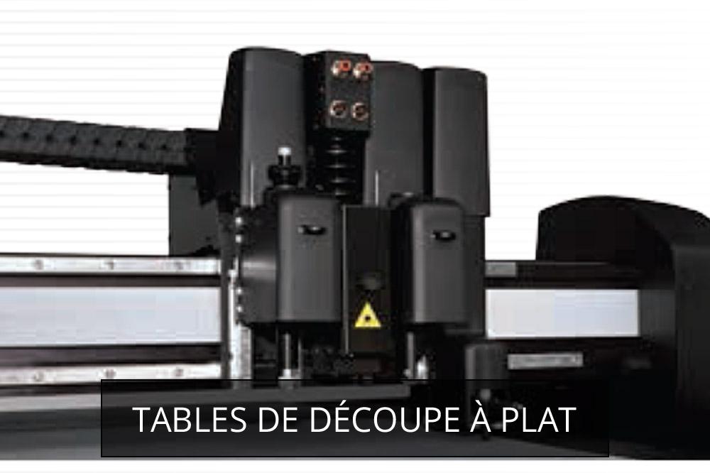 traceurs et tables de découpe
