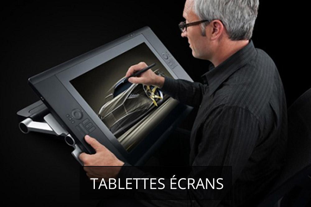 tablettes ecrans