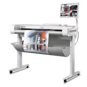scanner grand format rowe 650i