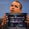president OBAMA impression 3D