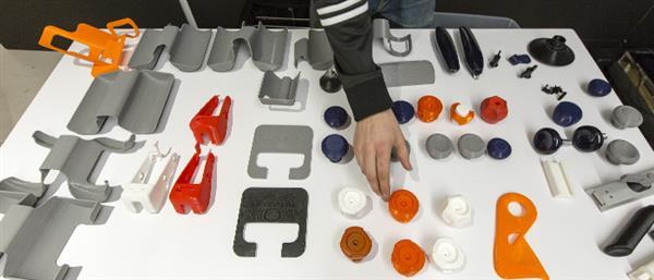 Imprimante 3D MakerBot avec Peloton