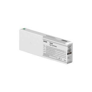 Epson T8049 (C13T804900) - Cartouche d'encre Gris Clair (Noir très clair) 700ml
