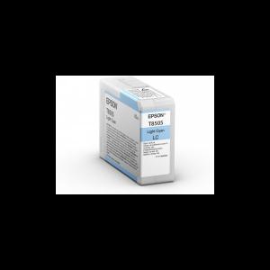 Epson T8505 (C13T850500) - Cartouche d'encre Cyan Clair 80ml