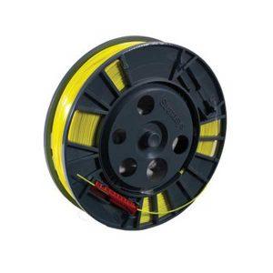 Pack de 5 bobines - Filament Stratasys CQ702A - ABS Jaune pour Designjet 3D HP