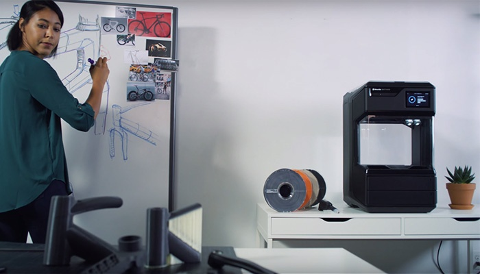 imprimante 3d Makerbot method professionnelle