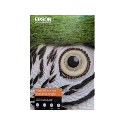 Papier Epson C13S450290 Fine Art Cotton Textured Bright