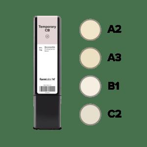 Cartouche Résine SLA/LFS Formlabs Dentaire Temporary CB Resin 1 kg